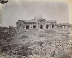 General view of the Jamali Kamali Masjid, Delhi 1003866